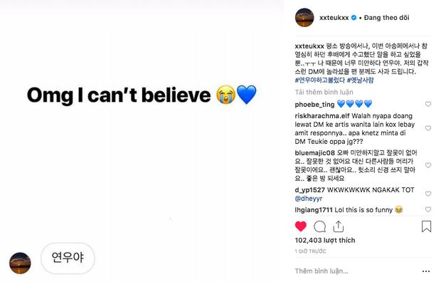 Nóng: Sau mỹ nhân MOMOLAND, Leeteuk (Suju) tiếp tục bị bóc phốt thả thính hàng loạt gái lạ trên Instagram - Ảnh 8.
