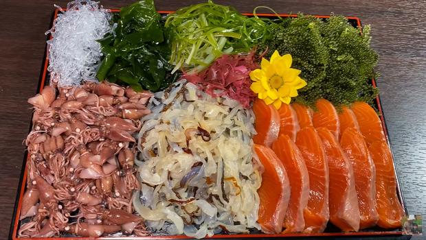 Xem clip giới thiệu các loại rong phổ biến ở Nhật của Quỳnh Trần JP, dân tình lại được mở mang tầm mắt với rong biển màu đỏ cực lạ - Ảnh 15.