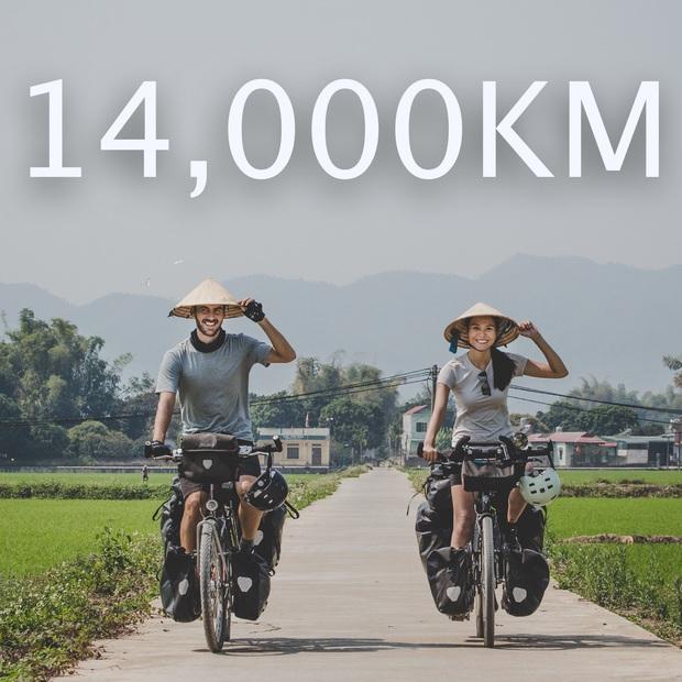 Cặp chồng Tây vợ Việt đi 16.000km từ Pháp về Việt Nam bằng xe đạp: Hy vọng chúng tôi có thể truyền cảm hứng cho những ai muốn theo đuổi giấc mơ của mình - Ảnh 1.