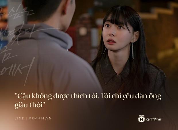 Hà Lan Mắt Biếc và Soo Ah của Tầng Lớp Itaewon: Những cô gái thực dụng, không yêu đàn ông nghèo có đáng bị căm ghét? - Ảnh 2.