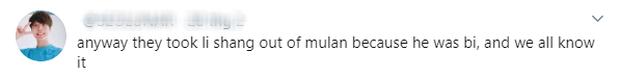 MXH nổi điên vì người yêu Mulan bị bay màu, Disney bị ném đá vì kỳ thị LGBT trong khi lấy cớ phong trào #MeToo ra biện hộ? - Ảnh 3.