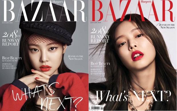 Tự hào quá Jennie ơi: Là nghệ sĩ Hàn đầu tiên lên full 6 tạp chí lớn, xịn thế này rồi ai đọ lại chị! - Ảnh 3.
