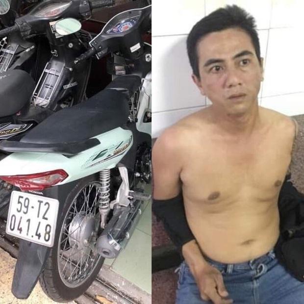 Cảnh sát đặc nhiệm truy đuổi kẻ cướp giật tài sản ở trung tâm Sài Gòn - Ảnh 1.