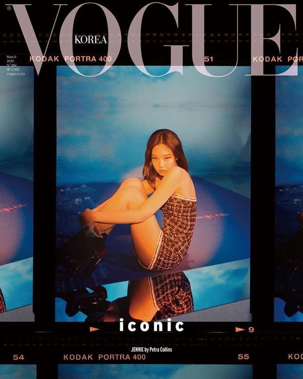 Tự hào quá Jennie ơi: Là nghệ sĩ Hàn đầu tiên lên full 6 tạp chí lớn, xịn thế này rồi ai đọ lại chị! - Ảnh 7.