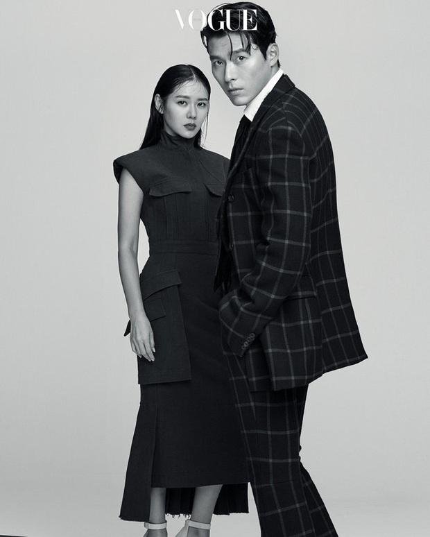 Bộ ảnh tạp chí bỗng trở lại của bộ đôi Hyun Bin và Son Ye Jin: 2 cực phẩm áp sát vào nhau thế này, dân tình sống sao? - Ảnh 5.