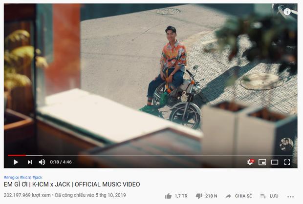 MV comeback cán mốc 1 triệu likes chỉ sau 16 tiếng: Jack đi trước Sơn Tùng M-TP 2 bước, kéo dài chuỗi thành tích lịch sử Vpop! - Ảnh 4.