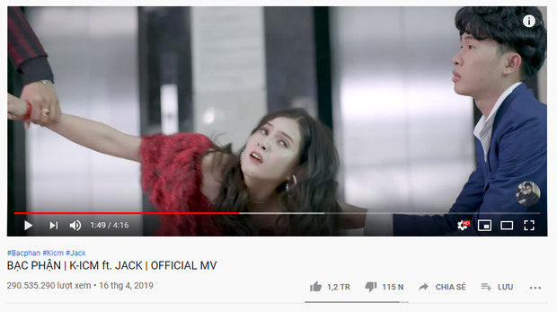 MV comeback cán mốc 1 triệu likes chỉ sau 16 tiếng: Jack đi trước Sơn Tùng M-TP 2 bước, kéo dài chuỗi thành tích lịch sử Vpop! - Ảnh 6.