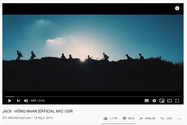 MV comeback cán mốc 1 triệu likes chỉ sau 16 tiếng: Jack đi trước Sơn Tùng M-TP 2 bước, kéo dài chuỗi thành tích lịch sử Vpop! - Ảnh 7.