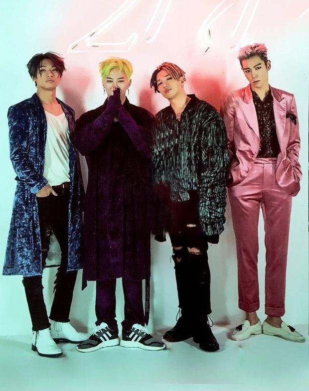 """Vừa quyết định ở lại YG, BIGBANG đã bị Knet mỉa mai chế giễu: """"Làm gì có công ty nào muốn thu nhận họ nữa đâu""""! - Ảnh 1."""