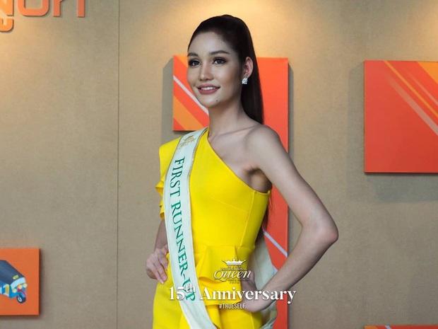 Top 3 Miss International Queen cùng lộ diện sau đăng quang: Tân Hoa hậu bị chê già, kém sắc hơn hẳn so với 2 nàng Á - Ảnh 5.