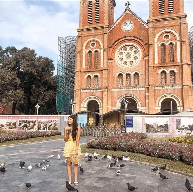 Cập nhật nhanh diện mạo mới nhất của Nhà thờ Đức Bà Sài Gòn sau bước đầu trùng tu, những mảng tường bị vẽ bậy giờ đã biến mất - Ảnh 7.
