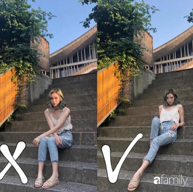Để chụp ảnh street style đẹp lung linh thì bạn cần 8 tuyệt kỹ tạo dáng giúp chân dài, dáng thon lại chanh sả xuất sắc - Ảnh 1.