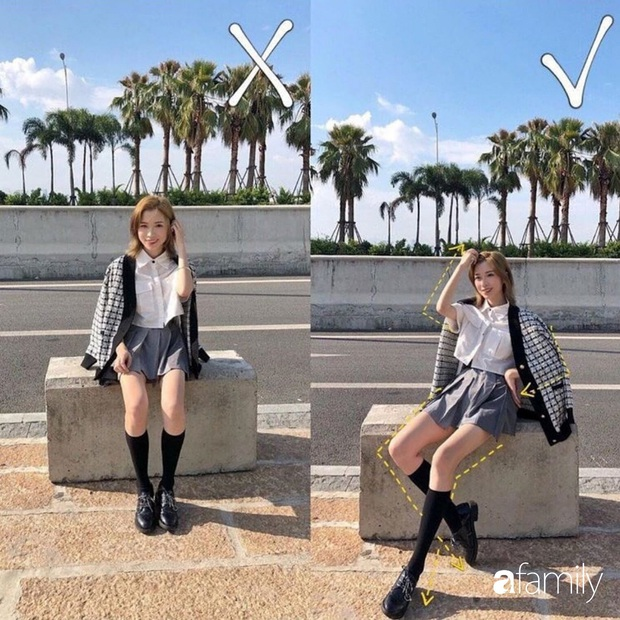 Để chụp ảnh street style đẹp lung linh thì bạn cần 8 tuyệt kỹ tạo dáng giúp chân dài, dáng thon lại chanh sả xuất sắc - Ảnh 3.