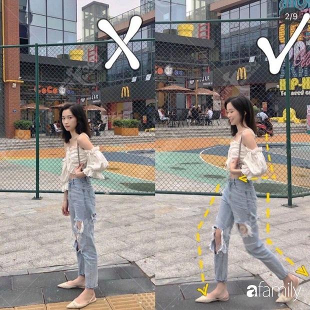 Để chụp ảnh street style đẹp lung linh thì bạn cần 8 tuyệt kỹ tạo dáng giúp chân dài, dáng thon lại chanh sả xuất sắc - Ảnh 4.
