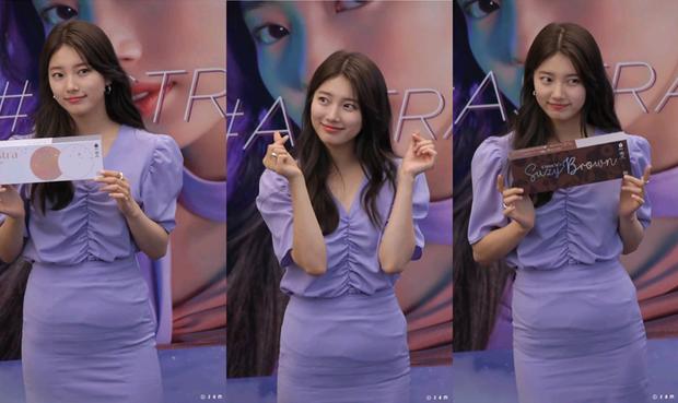Ngày càng trẻ đẹp sau ly hôn, Song Hye Kyo dù diện sau vẫn lấn át đàn em Suzy khi đụng hàng - Ảnh 5.