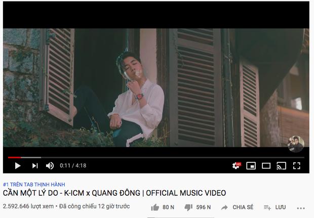 MV comeback của Jack cán mốc top 1 trending sau 9 giờ lên sóng, bất chấp Hậu Hoàng lên như diều gặp gió, lật đổ AMEE vững vàng suốt 4 ngày - Ảnh 4.
