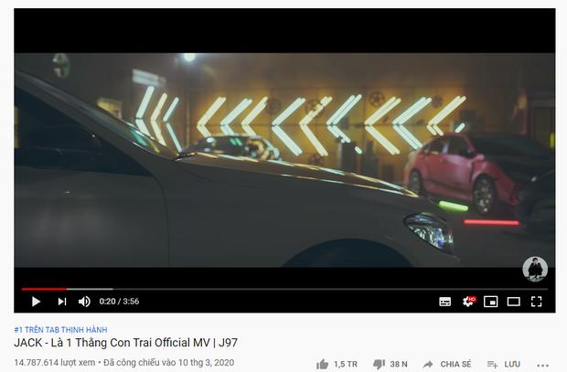Kênh YouTube của Jack - J97 tăng thêm 1 triệu sub nhanh chóng mặt sau khi ra MV, chả mấy chốc san bằng kênh của K-ICM ngay thôi? - Ảnh 2.