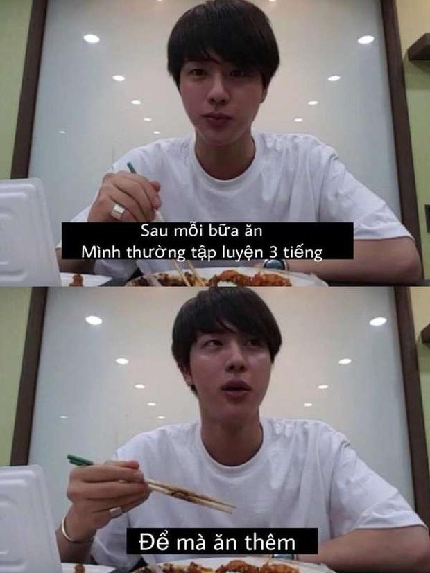 Jin (BTS): Phở ít calo vì ngon, đồ ăn ngon thì nghiễm nhiên calo bằng 0 - Ảnh 5.