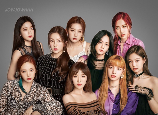 Vừa đẹp vừa tài lại còn thân thiết, BLACKPINK và Red Velvet khiến fan đòi lập nhóm BLACK VELVET, collab ngay cho nóng - Ảnh 1.
