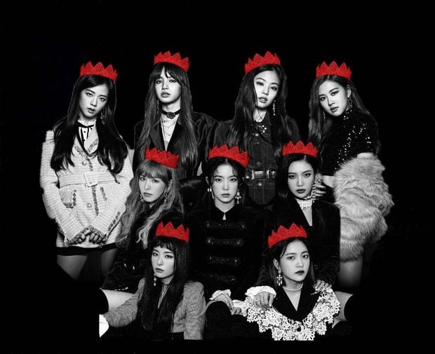 Vừa đẹp vừa tài lại còn thân thiết, BLACKPINK và Red Velvet khiến fan đòi lập nhóm BLACK VELVET, collab ngay cho nóng - Ảnh 2.