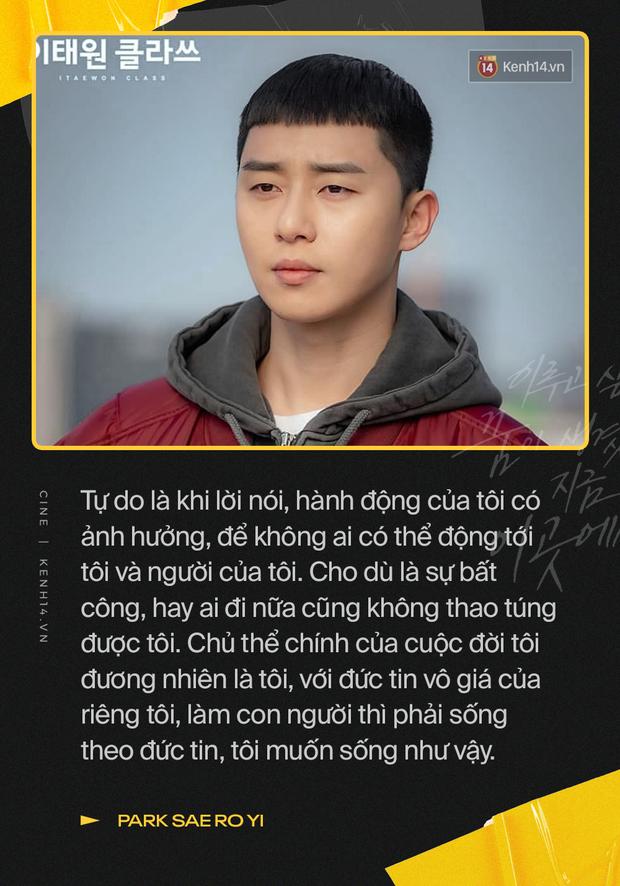 8 câu thoại của Tầng Lớp Itaewon chứng minh tuổi trẻ bây giờ không phải dạng vừa đâu: Đừng bảo tôi từ bỏ thích anh, anh làm gì có quyền? - Ảnh 3.