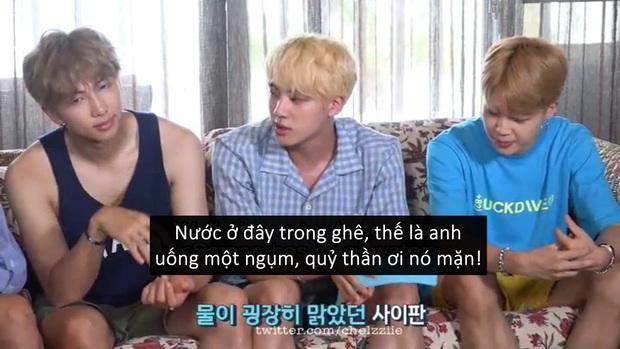Jin (BTS): Phở ít calo vì ngon, đồ ăn ngon thì nghiễm nhiên calo bằng 0 - Ảnh 2.