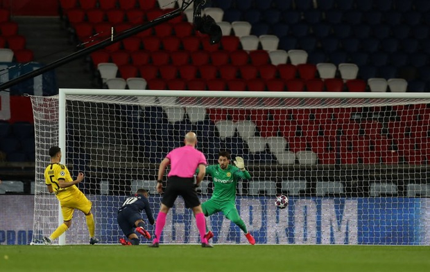 Siêu sao Neymar tỏa sáng, PSG lội ngược dòng thành công trên sân nhà trước Dortmund tại vòng 1/8 tại giải đấu danh giá nhất châu Âu - Ảnh 1.