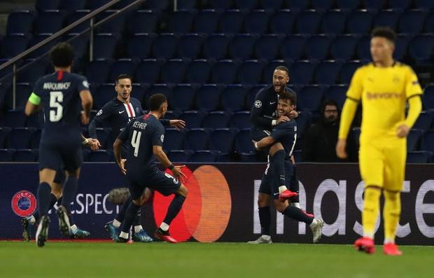 Siêu sao Neymar tỏa sáng, PSG lội ngược dòng thành công trên sân nhà trước Dortmund tại vòng 1/8 tại giải đấu danh giá nhất châu Âu - Ảnh 2.