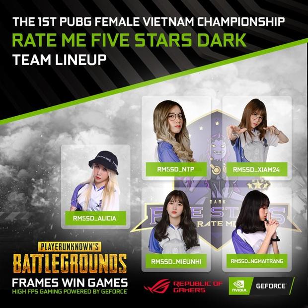 Điểm mặt những cái tên hot sẽ tham dự giải đấu The 1st PUBG Female Vietnam Championship - Ảnh 1.