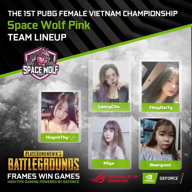 Điểm mặt những cái tên hot sẽ tham dự giải đấu The 1st PUBG Female Vietnam Championship - Ảnh 2.