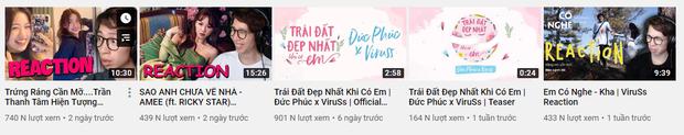 Bản demo của Jack chỉ đăng ké thôi mà trở thành video nhiều view và like nhất trên kênh YouTube của ViruSs! - Ảnh 3.