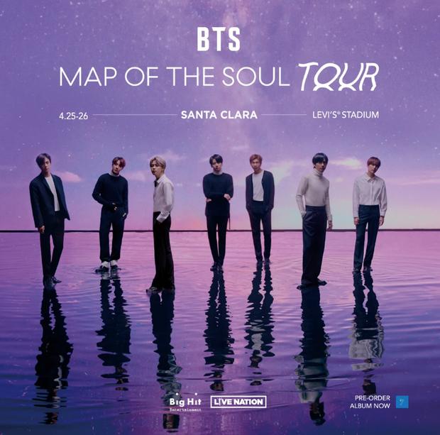 Bên cạnh các đêm diễn tại Seoul, tour MAP OF THE SOUL của BTS có khả năng sẽ hoãn hoặc huỷ ở 1 SVĐ của Mỹ vì đại dịch Covid-19? - Ảnh 2.