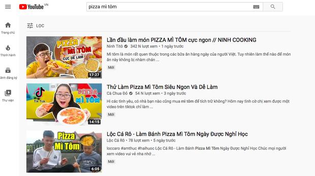 """Sau pizza bánh chưng, lại đến pizza… mì tôm được các vlogger """"lăng xê"""", sắp trở thành hot trend? - Ảnh 1."""