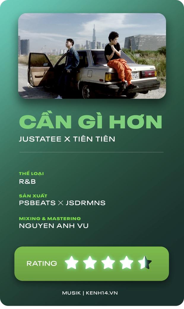 Cần Gì Hơn - Tiên Tiên kết hợp Justatee và JSDRMNS cho 1 bản R&B vượt xa mong đợi của nhạc Việt - Ảnh 11.