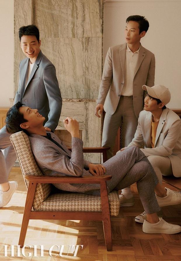 F4 Hạ cánh nơi anh tung bộ ảnh tạp chí lột xác bảnh xuất thần, chú ý nhất là visual của bản sao Kim Soo Hyun - Ảnh 5.