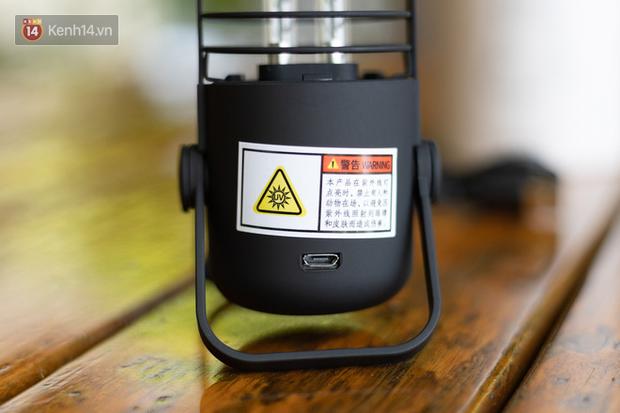 Cận cảnh đèn tia cực tím diệt khuẩn của Xiaomi, hữu ích nhưng khó kiểm chứng con số 99,99% như nhà sản xuất công bố! - Ảnh 6.