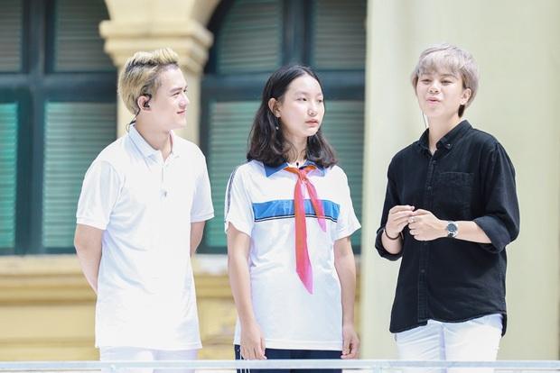 Thu Quỳnh, Bảo Hân, Quang Anh cực đáng yêu tại Thiếu niên nói - Ảnh 3.