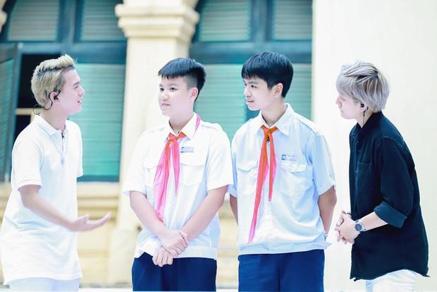 Thu Quỳnh, Bảo Hân, Quang Anh cực đáng yêu tại Thiếu niên nói - Ảnh 5.