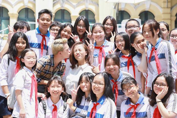 Thu Quỳnh, Bảo Hân, Quang Anh cực đáng yêu tại Thiếu niên nói - Ảnh 7.
