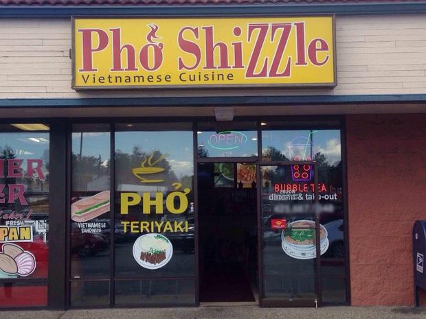 """Những biển hiệu """"biến hoá khôn lường"""" của các nhà hàng phở nước ngoài: Thế mới thấy phở Việt Nam được ưa chuộng trên thế giới như nào! - Ảnh 5."""
