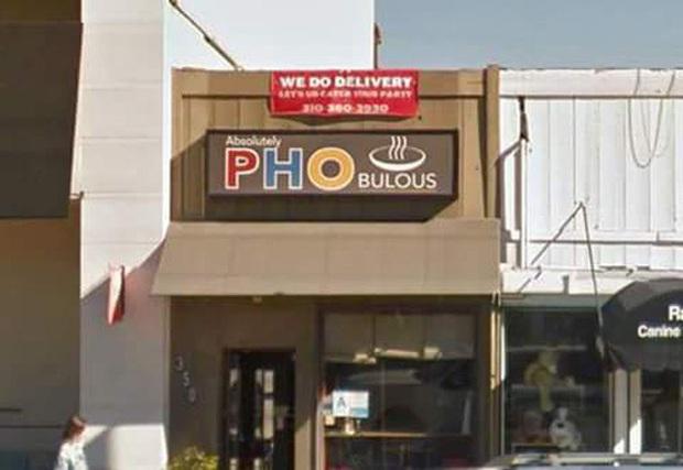 """Những biển hiệu """"biến hoá khôn lường"""" của các nhà hàng phở nước ngoài: Thế mới thấy phở Việt Nam được ưa chuộng trên thế giới như nào! - Ảnh 12."""
