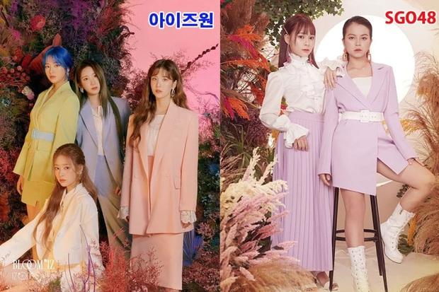 Dính nghi án đạo nhái IZ*One, nhóm nhạc Việt bị truyền thông lẫn netizen xứ Hàn chỉ trích không thương tiếc - Ảnh 5.