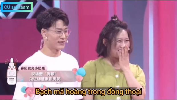 Cứ ngỡ gặp được bạch mã hoàng tử, cô gái tá hỏa khi thấy bạn trai thật sự xuất hiện trên show tỏ tình - Ảnh 3.