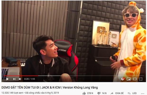 Đổi tên kênh Youtube của Jack để đăng tải demo hợp tác cùng gà cưng nhưng K-ICM lại mất trắng 41 triệu view chỉ trong 1 ngày? - Ảnh 5.