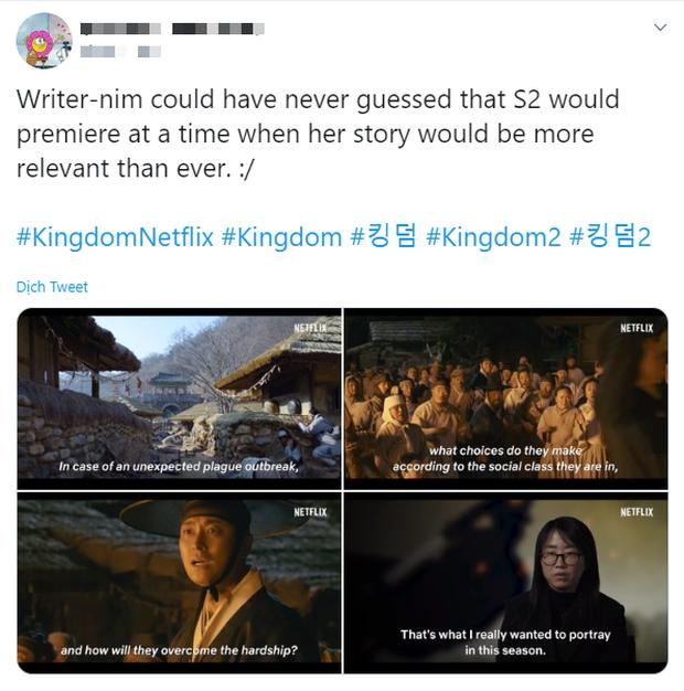 Khán giả Kingdom 2 khen phim dễ cưng cứ như đang xem Crash Landing on You, ủa đây là phim kinh dị xác sống ăn thịt người mà? - Ảnh 4.