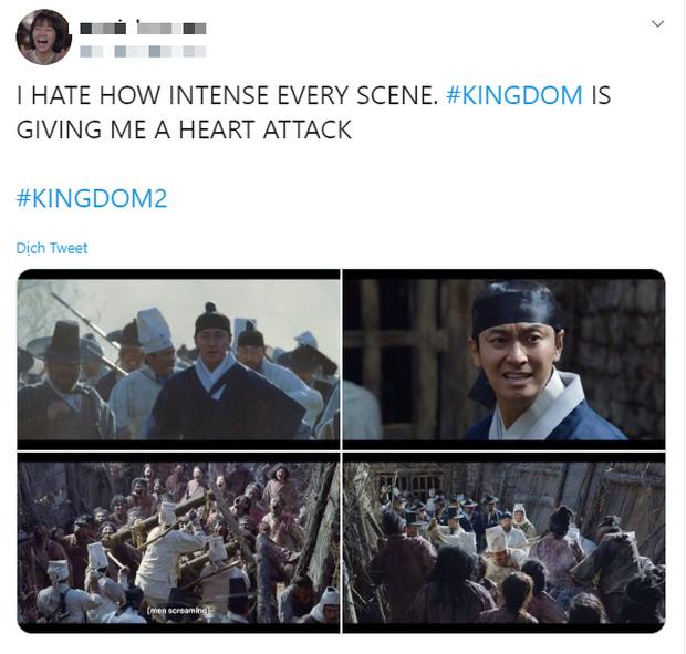Khán giả Kingdom 2 khen phim dễ cưng cứ như đang xem Crash Landing on You, ủa đây là phim kinh dị xác sống ăn thịt người mà? - Ảnh 7.