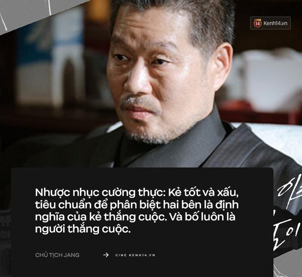 """9 câu thoại """"rợn người"""" nhất Tầng Lớp Itaewon: Chủ tịch Jang vẫn chưa khiến khán giả sốc bằng """"trai ngoan biến chất"""" Geun Soo - Ảnh 4."""