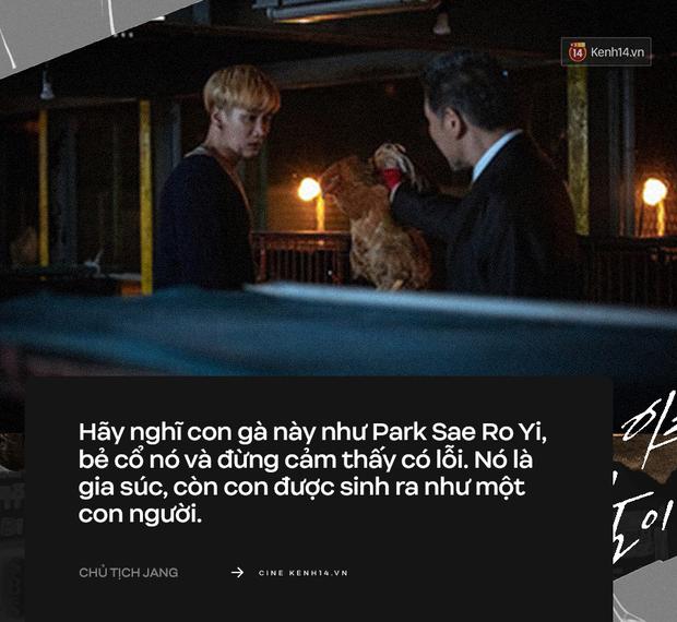 """9 câu thoại """"rợn người"""" nhất Tầng Lớp Itaewon: Chủ tịch Jang vẫn chưa khiến khán giả sốc bằng """"trai ngoan biến chất"""" Geun Soo - Ảnh 3."""