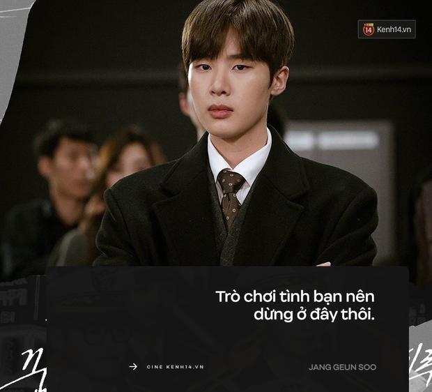 """9 câu thoại """"rợn người"""" nhất Tầng Lớp Itaewon: Chủ tịch Jang vẫn chưa khiến khán giả sốc bằng """"trai ngoan biến chất"""" Geun Soo - Ảnh 7."""