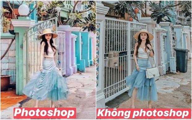 Mina Phạm tự đăng lại hình bị phốt dạo nọ: Tính ra ảnh gốc cũng xịn, sao phải cất công photoshop làm chi? - Ảnh 3.